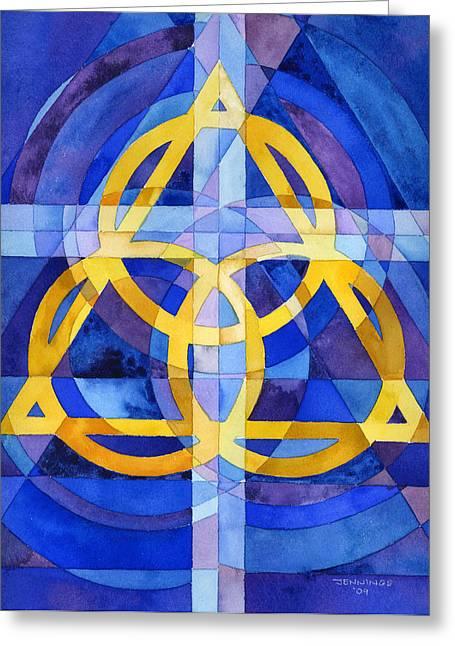 Trinity Greeting Cards - Trinity Greeting Card by Mark Jennings