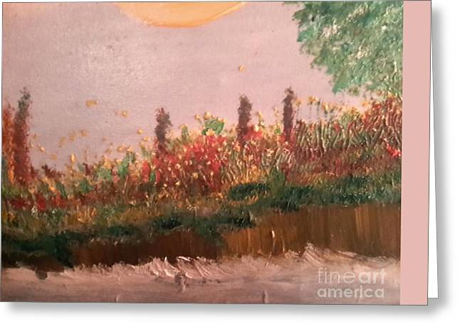 Canoe Greeting Cards - Trinity River Greeting Card by Cindy  Riley