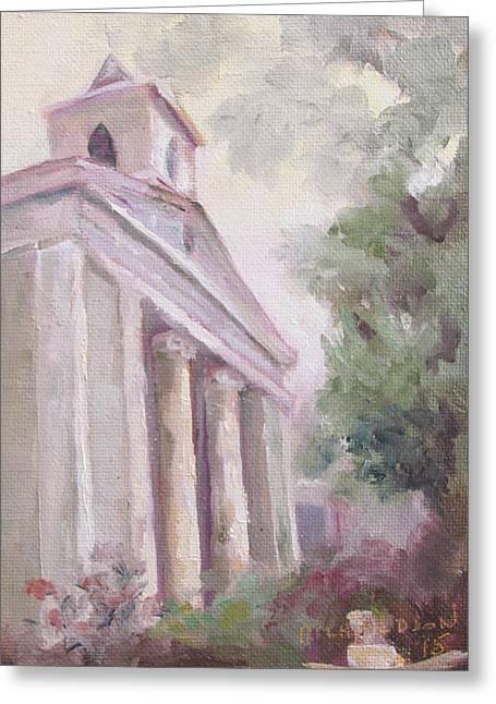 Trinity Greeting Card by Susan Richardson