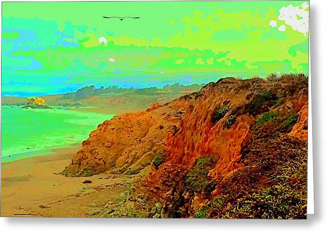 Cambria Greeting Cards - Trippin To Cambria Greeting Card by FlyingFish Foto