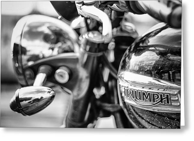 Trusty Greeting Cards - Triumph Greeting Card by Pablo Lopez