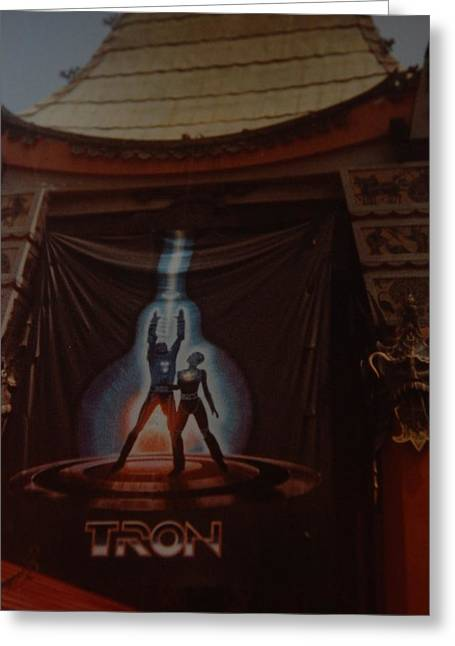 Best Sellers -  - Tron Greeting Cards - Tron  Greeting Card by Rob Hans