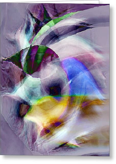 Abstract Expression Greeting Cards - Tropical Fish Greeting Card by Linda Sannuti