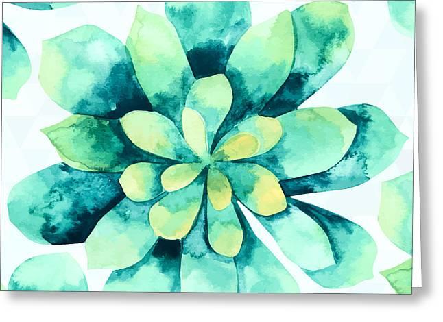 Tropical Flower  Greeting Card by Mark Ashkenazi