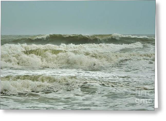 Featured Art Greeting Cards - Tropical Storm Ana 4 Greeting Card by Bob Sample