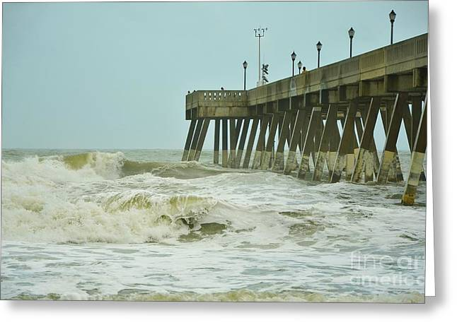 Featured Art Greeting Cards - Tropical Storm Ana 5 Greeting Card by Bob Sample