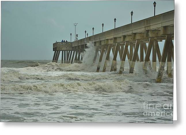 Featured Art Greeting Cards - Tropical Storm Ana 3 Greeting Card by Bob Sample