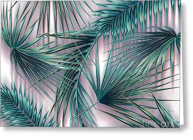 Tropicana  Greeting Card by Mark Ashkenazi
