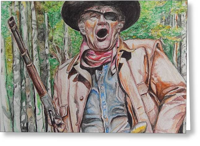 True Grit Greeting Card by Martin Williams