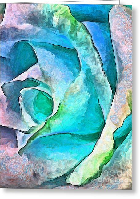 Trust In Miracles Greeting Card by Krissy Katsimbras
