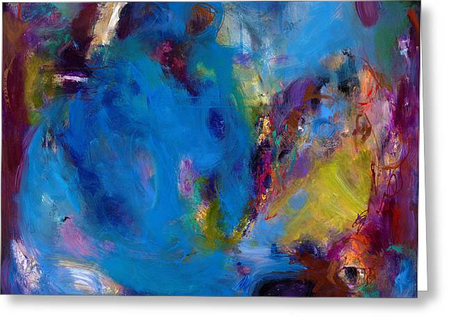 Stellar Paintings Greeting Cards - Truth in Dreams II Greeting Card by Johnathan Harris