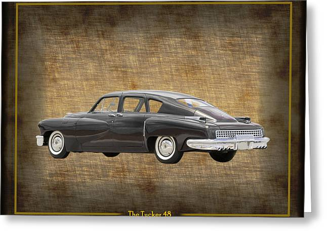 1949 Movies Greeting Cards - Tucker 48 Greeting Card by Jack Pumphrey