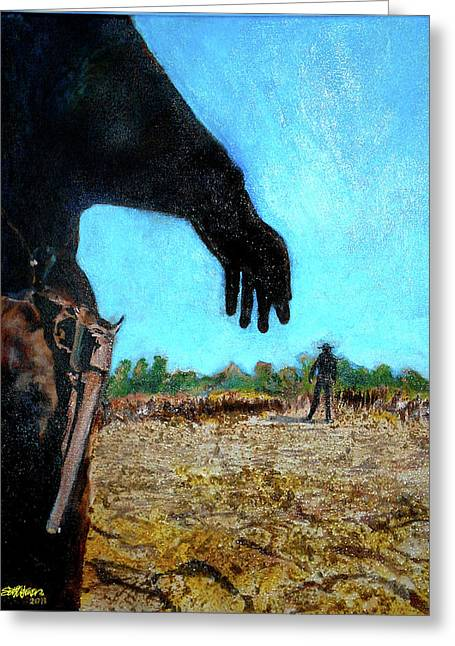 And Sand-mix Greeting Cards - Tuco  Greeting Card by Seth Weaver