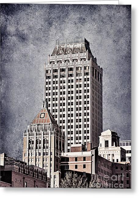 Tamyra Ayles Photographs Greeting Cards - Tulsa Art Deco I Greeting Card by Tamyra Ayles