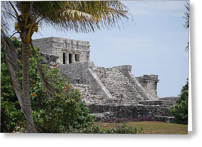 Stepping Stones Greeting Cards - Tulum 2 Greeting Card by Laurie Perry