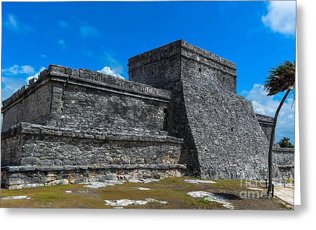Religious Greeting Cards - Tulum City Of Dawn Greeting Card by Gary Keesler