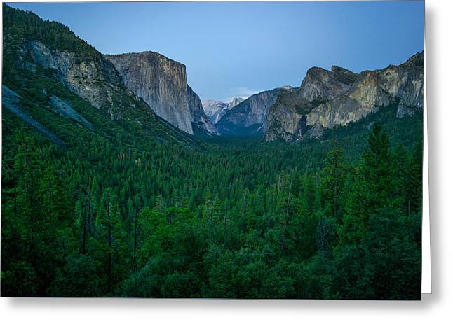Tunnel View Greeting Cards - Tunnel View Greeting Card by Brad Monahan