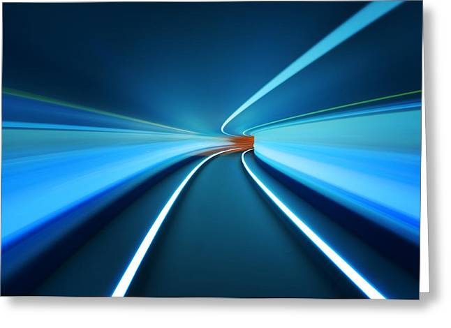 Tunnels Greeting Cards - Tunnel Vision Greeting Card by Robert Work