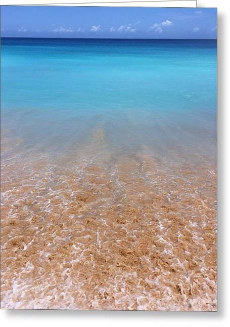 Tunnels Beach In Kauai Beach Landscape Photography 4 Greeting Card by Ariane Moshayedi