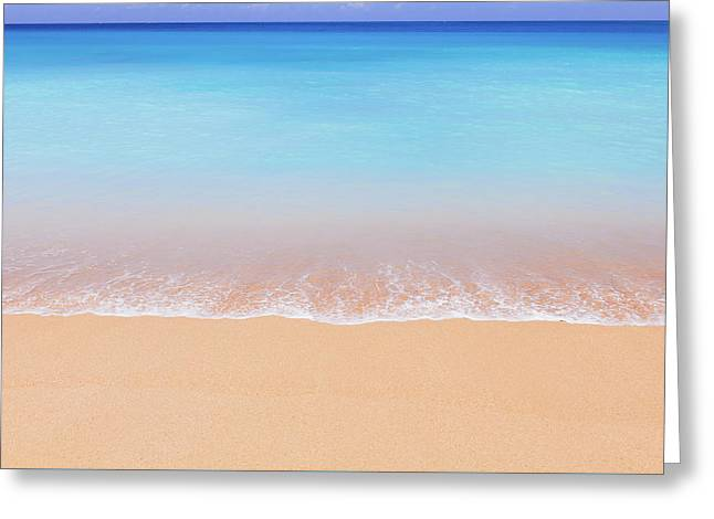 Tunnels Beach Kauai Landscape Photography Greeting Card by Ariane Moshayedi