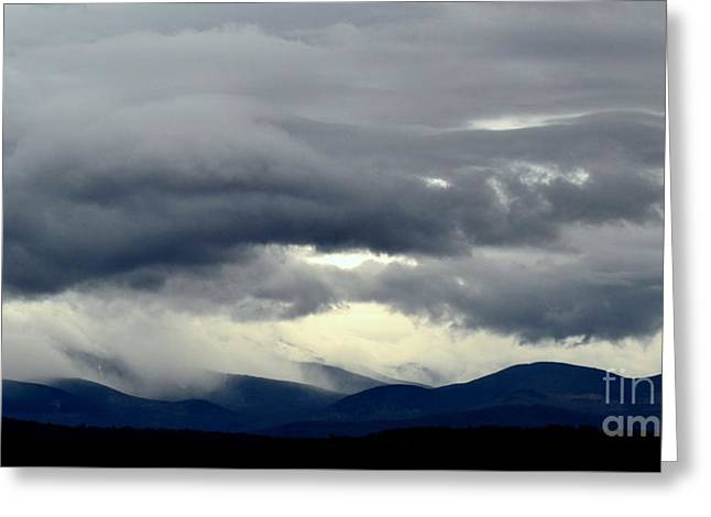 Turbulent Skies Greeting Cards - Air Flow Greeting Card by Mark Guilfoyle