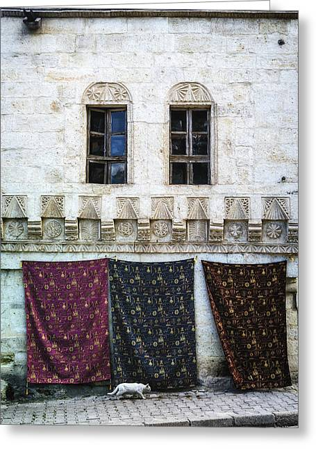 Turkish Carpets Greeting Card by Joana Kruse