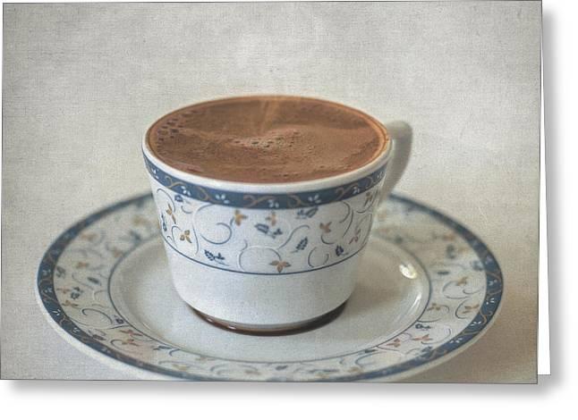 Turkish Coffee Greeting Card by Taylan Soyturk
