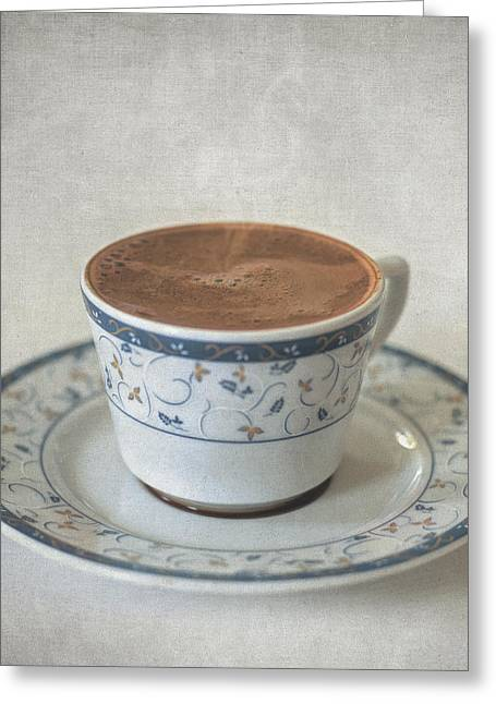 Interior Still Life Greeting Cards - Turkish Coffee Greeting Card by Taylan Soyturk