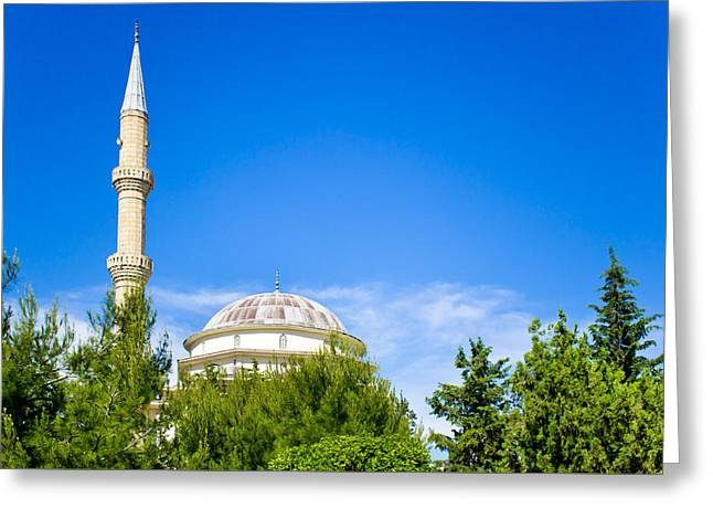 Cupola Greeting Cards - Turkish mosque Greeting Card by Tom Gowanlock