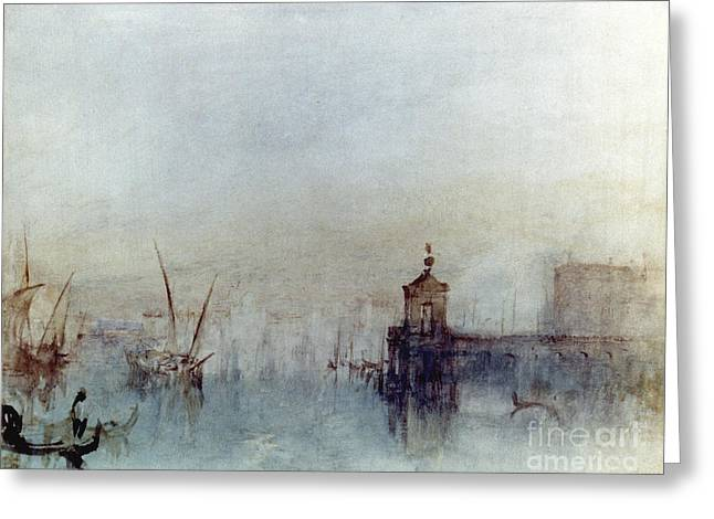Romanticism Greeting Cards - Turner: Venice, 1840 Greeting Card by Granger