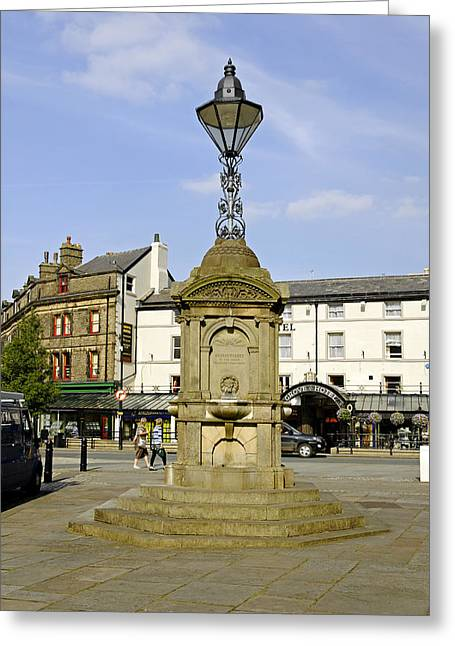 England Greeting Cards - Turners Memorial at Buxton Greeting Card by Rod Johnson