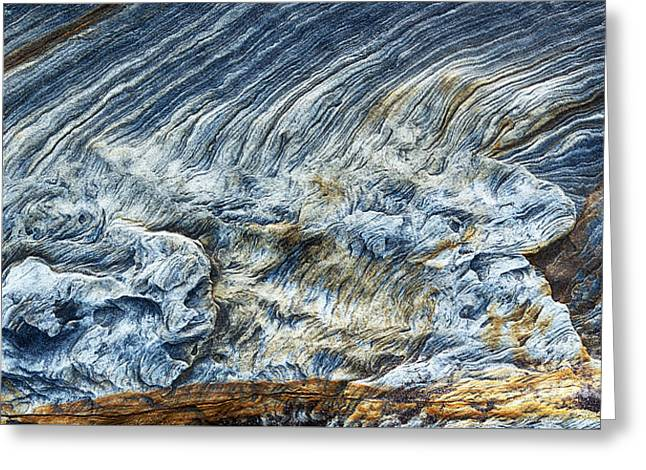 Geology Photographs Greeting Cards - Turning of the Tide Greeting Card by Tim Gainey