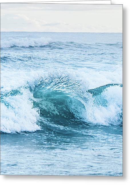 Turquoise Formations Greeting Card by Parker Cunningham