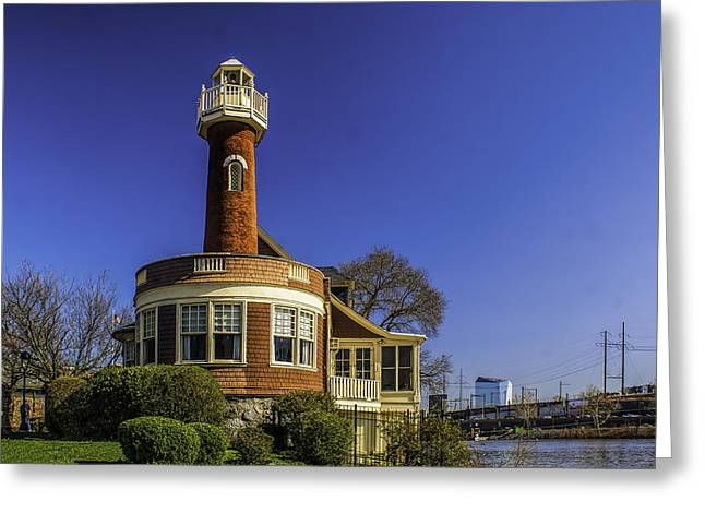 Kelly Greeting Cards - Turtle Rock Lighthouse - Pa Greeting Card by Nick Zelinsky
