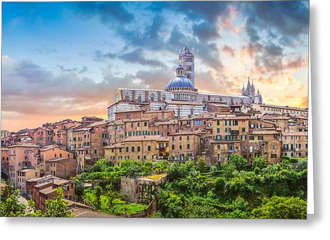 Tuscan Romance  Greeting Card by JR Photography