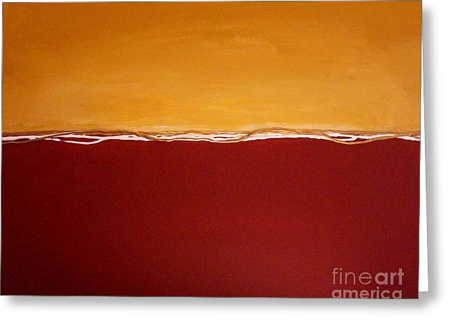 Sunset Posters Greeting Cards - Tuscan Sunrise Greeting Card by Marsha Heiken