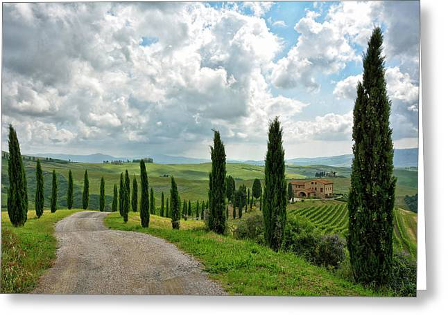 Tuscan Winery 2 Greeting Card by Joachim G Pinkawa