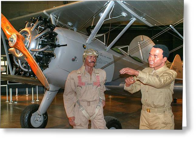 Tuskeegee Greeting Cards - Tuskeegee Airmen Greeting Card by Paul Lindner