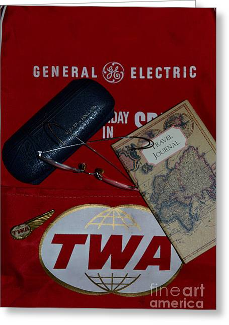 Hostess Greeting Cards - TWA World Traveler Greeting Card by Paul Ward