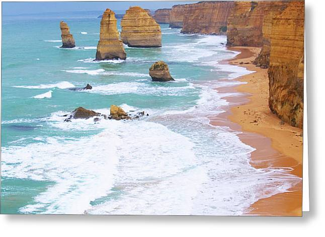 Twelve Apostles Greeting Card by Fir Mamat