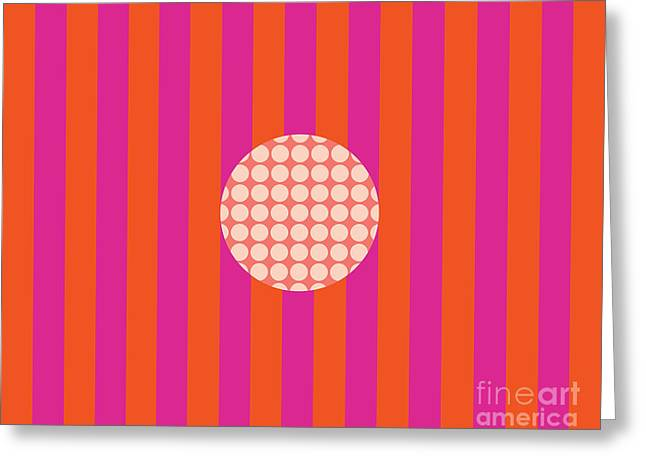 Twiggy Pink--hot Greeting Card by Patti Britton