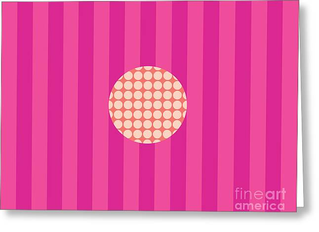 Twiggy Pink--pink Greeting Card by Patti Britton