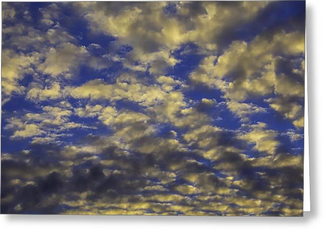 Twilight Clouds Greeting Card by Garry Gay