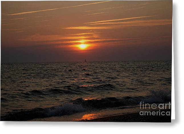 Gloaming Greeting Cards - Twilight is the best light Greeting Card by Brian Flannery