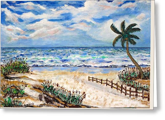 No Frame Needed Paintings Greeting Cards - Twilight Greeting Card by Robert Raymond