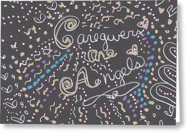 Pen And Ink Drawing Greeting Cards - Twilight Greeting Card by The Sandwich  Woman