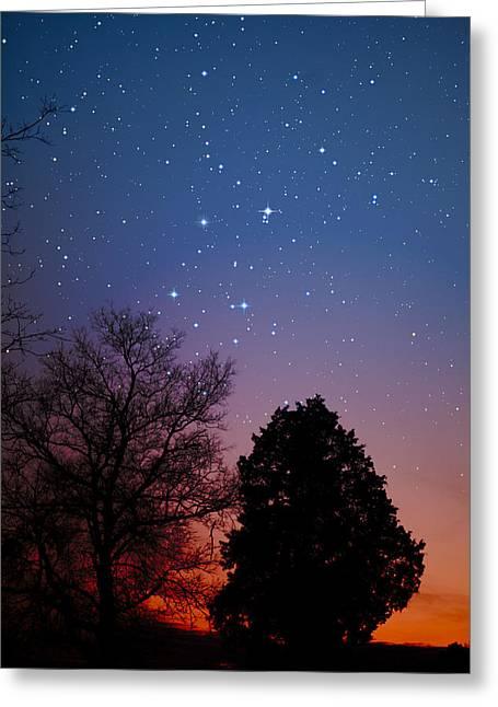 Charles Warren Greeting Cards - Twilight Transitions Greeting Card by Charles Warren