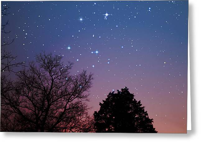 Twilight Transitions Greeting Card by Charles Warren