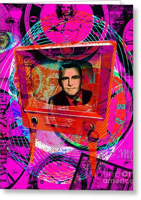Vertigo Greeting Cards - Twilight Zone 20150905 m50 Greeting Card by Wingsdomain Art and Photography