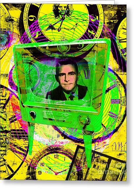 Vertigo Greeting Cards - Twilight Zone 20150905 p56 Greeting Card by Wingsdomain Art and Photography